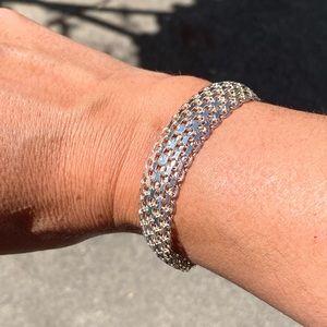 Sterling cuff style bracelet